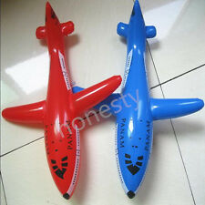 Inflatable Aircraft Blow Up Toys Party Fancy Dress Pool Beach Swimming Kids Gift