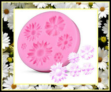 DAISY FLOWER SILICONE MOULD. PERFECT FOR FONDANT SUGAR CRAFT.CHOCOLATE. ECT