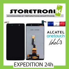 LCD + VITRE TACTILE ASSEMBLÉE ALCATEL ONE TOUCH IDOL 3 MINI NOIR 6039