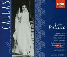 Donizetti: Poliuto (CD, Oct-1997, 2 Discs, EMI, Maria Callas, Franco Corelli
