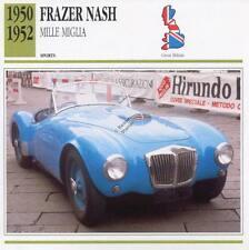 1950-1952 FRAZER NASH Mille Miglia Sports Classic Car Photo/Info Maxi Card