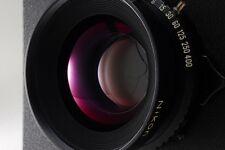 【Near Mint】 Nikon Nikkor W 180mm f/5.6 Lens Copal #1 TOYO VIEW from Japan #44