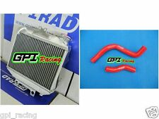 aluminum radiator &HOSE Honda CR250 CR 250 R CR250R 1997 1998 1999 97 98 99