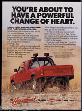 1989 CHEVROLET S-10 pickup advertisement, Chevy S10 4x4 BAJA pickup
