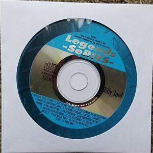 LEGENDS KARAOKE CDG BILLY JOEL OLDIES POP 70'S 80'S 090 16 SONGS CD+G MUSIC CD
