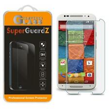SuperGuardZ Tempered Glass Screen Protector Shield for Motorola Moto X (2nd Gen)