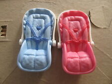 Fisher Price Loving Family set of twins car seats
