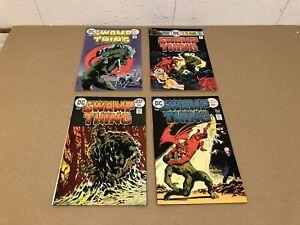 DC Comics Comic Book Lot Swamp Thing Bronze Age Lot #9 #15 #18 #19