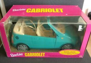 Vintage 1999 Mattel BARBIE Blue Aqua CABRIOLET Car NEW & BOXED Read