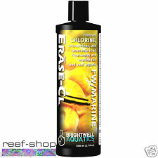 Brightwell Erase-CL 500mL Reef Safe Chlorine Ammonia Remover Free USA Shipping