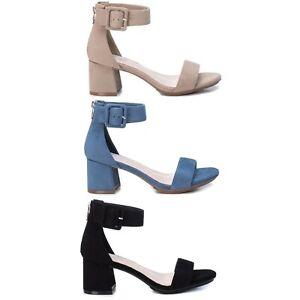 XTI Mujer Sandalias Cuñas Verano Zapatos Chanclas 23004