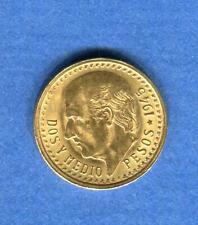 Mexico 2 1/2 Pesos 1945 Stgl Gold