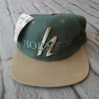 Vintage New Charlotte Hornets Strapback Hat Cap 90s
