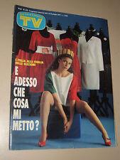 TV SORRISI CANZONI=1987/23=PERRY MASON=PHILIPPE LEROY=EDOARDO BENNATO=FIGURINE=
