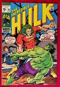 1971 Incredible Hulk #141 Key Issue 1st App Origin Doc Samson Marvel VIBRANT