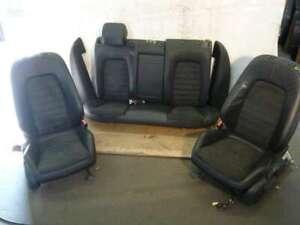 VW Passat 3C Limousine Leder Ausstattung schwarz Alcantara und Glattleder