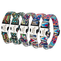 Nylon Dog Collar for Small Large Dogs Personalized Dog Puppy ID Name Collar Tags