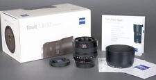 New Store Demo Zeiss Touit 32mm f1.8 Fuji  Fujifilm X-Mount Like new + WarrantY
