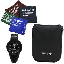 Welch Allyn Tycos DS58 Blood Pressure w Family Practice 4 Cuff Kit & Zipper Case
