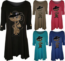 Short Sleeve No Pattern Waist Length Tops & Shirts Plus Size for Women