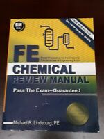 Fe Chemical Review Manual by Michael Lindeburg 9781591264453