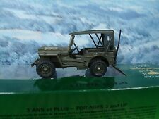 1/43 Solido (France)   Jeep military US army
