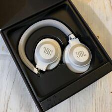 JBL E65BTNC Wireless Over Ear Bluetooth Noise Canceling Headphones White