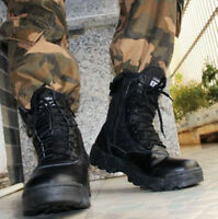 Army Winter Camoflage Shoes Mens Lace Up Strappy Military Combat Boots Round Toe
