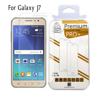 For Samsung Galaxy J7 Tempered Glass Film Screen Protector 100% Genuine Gorilla