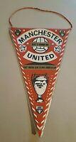 *Rar* Wimpel Manchester United 1968 European Cup Old Pennant Football Fussball