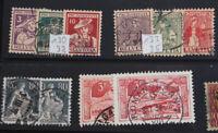 Schweiz Sammlung ab Rayon bis Neuheiten, Flugpost, Pro Juventute, Blocks etc.