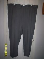 Savane Straight Fit Mens Dress Pants Gunmetal Size 54W X 30L NWT's