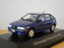 ALTAYA IXO VW VOLKSWAGEN POINTER (FORD ESCORT MK5) 1995 BLUE CAR MODEL MQ18 1:43