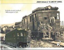 K-Line by Lionel 2008 Catalog, Volume 2