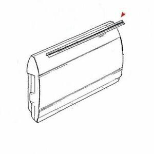 Mercedes Benz W123 Door Window Seal Belt Window Rubber Scraper Brushes 4 PC