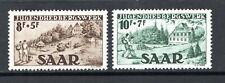 GERMANY SAAR 1949 - Hikers & Hostels issue - cmpt set - MNH