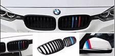 BMW M-Power Streifen Grill Nieren Aufkleber Carbonoptik