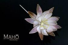 EXQUISITE Handmade JAPANESE Wedding KANZASHI HAIRPIN COMB KIMONO Lotus Lilly