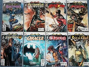 BRUCE WAYNE THE ROAD HOME - 8 ONE SHOT SPECIAL ISSUES - DC COMICS DEC 2010 - NM