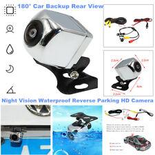 180° Car SUV Backup Rear View Reverse Parking HD Camera Night Vision Waterproof
