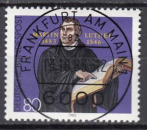 BRD 1983 Mi. Nr. 1193 gestempelt FRANKFURT AM MAIN , mit Gummi TOP! (15355)