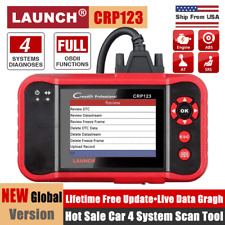 LAUNCH CRP123 OBD2 Scanner Auto Engine ABS SRS Transmission Diagnostic Scan Tool