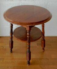 VINTAGE OAK ROUND PUB TABLE, GARDEN CAFE TABLE
