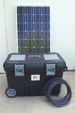 2500/5000 Watt Solar Generator 200AH Battery 2 100w Solar Panels Portable