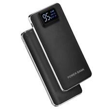 2USB 50000mAh Power Bank LED LCD Zusatzakku Batterie Ladegerät Für Samsung S9 S8