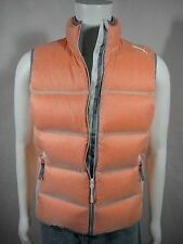NWT PUMA Men's Down Tundra Vest Spicy Orange size S