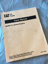 CATERPILLAR 6M60-TL DIESEL Forklift Engine Parts Manual Diesel book catalog CAT