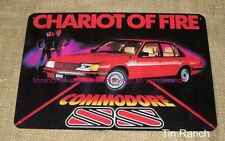 HOLDEN COMMODORE SS TIN SIGN 1982 VH advert metal VINTAGE CLASSIC CAR Australian