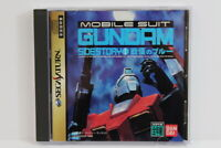 Mobile Suit Gundam Side Story 1 I Sega Saturn SS Japan Import RARE Version