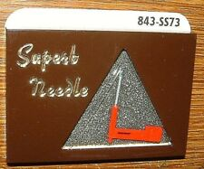 Stereo Phonograph Needle 841-DS73 for Telefunken A23/2 A25/2 T23, N723-sd 939D/S